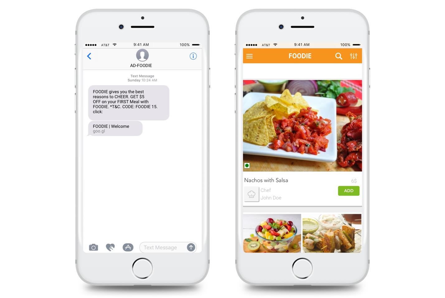SMS Deep Linking